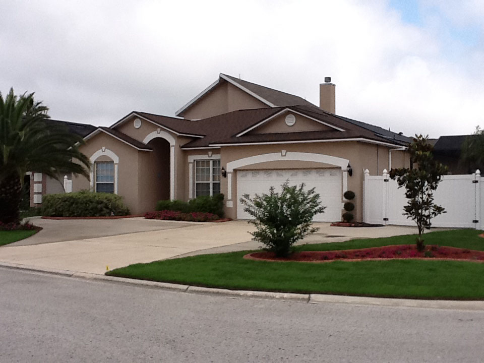 Stucco gallery jacksonville a b painting stucco and - Painting a stucco house exterior ...